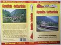Alpenblicke von der Gotthardbahn  Führerstandsmitfahrt mit Seitenblicken : auf der Re 6/6 von Arth-Goldau nach Biasca, VHS vid